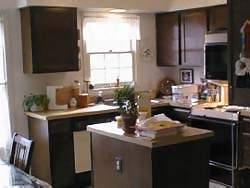 Our House Is 16 Year Old Now And The Kitchen Looked Dated. As You Can See,  It Had Dark Brown Cupboards And A Tan Countertop. We Decided White Cabinets,  ...